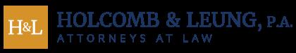 Holcomb & Leung, P.A. Header Logo